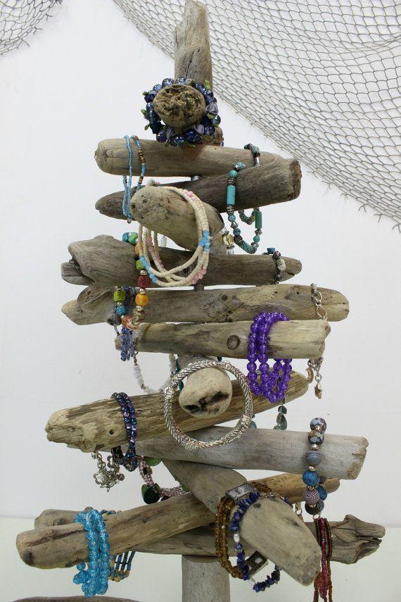 Arbre bois flotté bois flotté bijoux titulaire par StrollinTheBeach