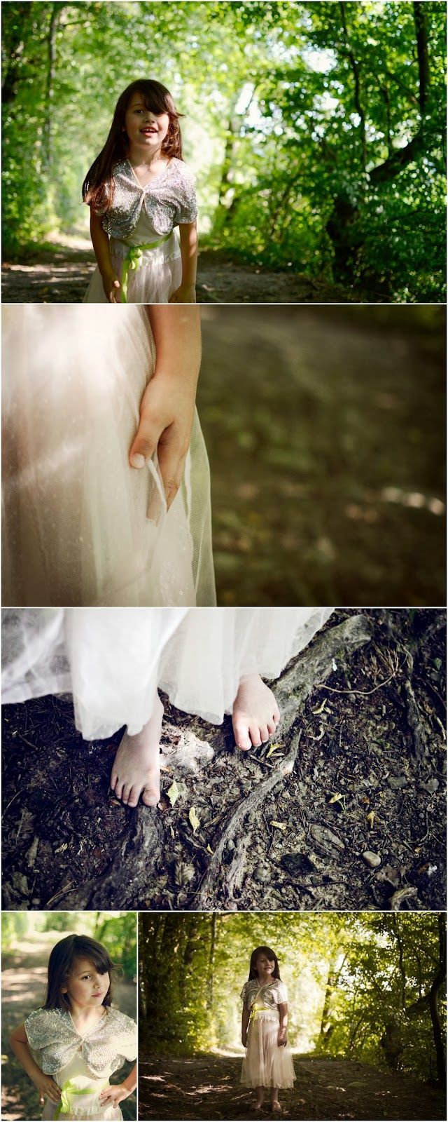 The little forest fairy - portrait child, photography, pastel, summer!