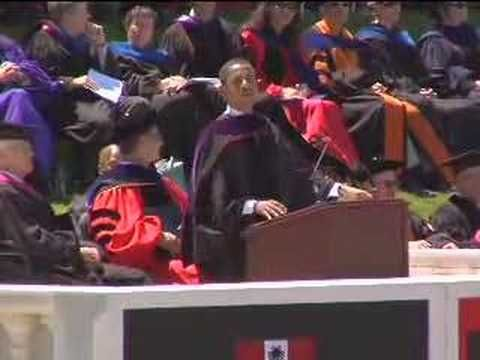 5½ Timeless Commencement Speeches to Teach You to Define Your Own Success  Barack Obama at Wesleyan Commencement Ceremony