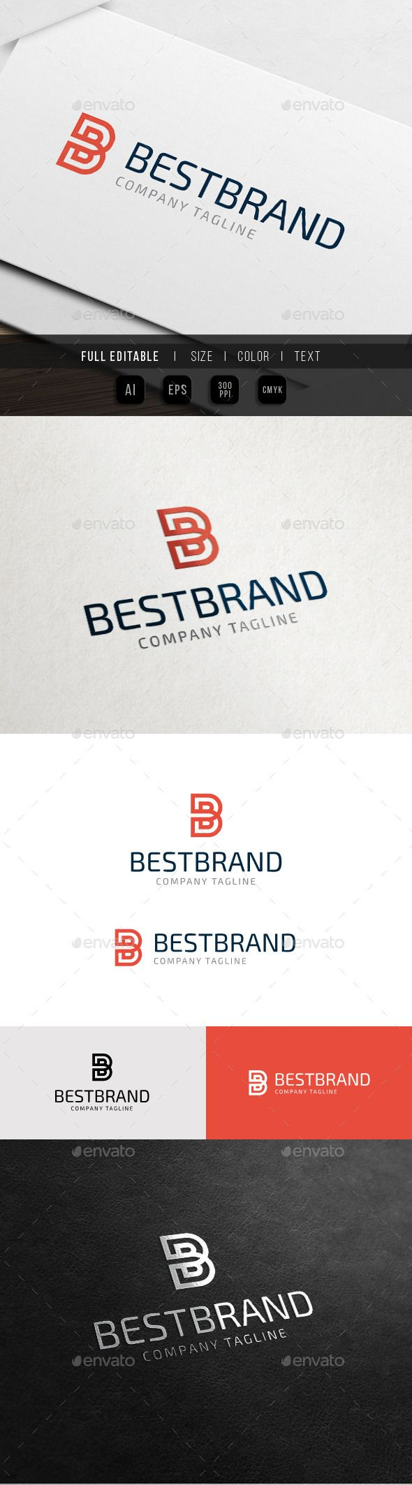 Best Brand Letter B Business 457