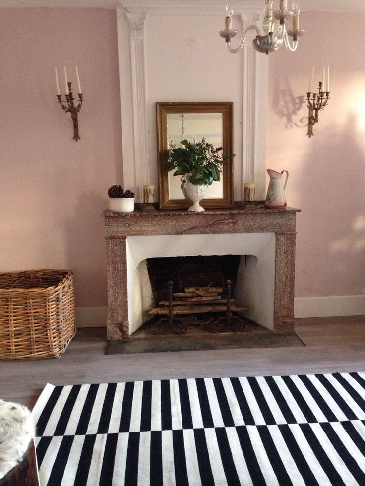 Sitting room make over - shop the look! Ikea rug calamine walls