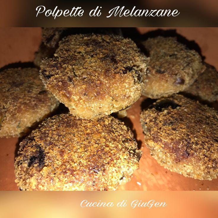 Polpette di melanzane  Eggplant balls  https://www.facebook.com/LaCucinadiGiuGen/photos/a.151513395012209.1073741826.151499725013576/709373992559477/?type=3&theater