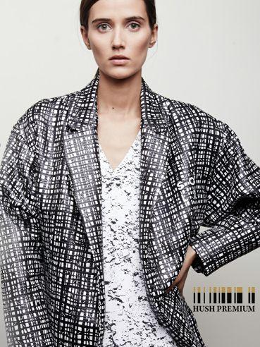 Michał Szulc SOLD - not so obvious forms and patterns #hushwarsaw #hushpremium #michalszulc #sold #fashion #polishfashion #classy #clothes #print