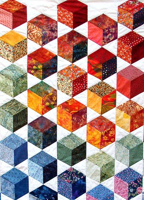 Bricks in Happy Colors, close up, by Hanne Hector Schroeder (Denmark)