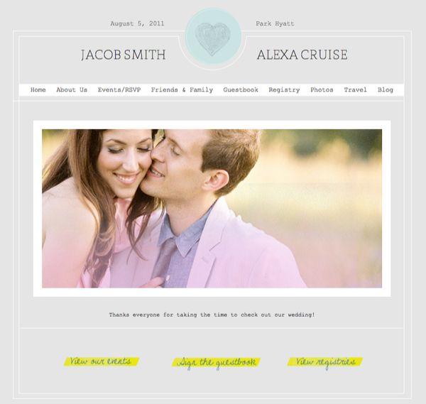15 best wedding website ideas images on Pinterest | Website ideas ...