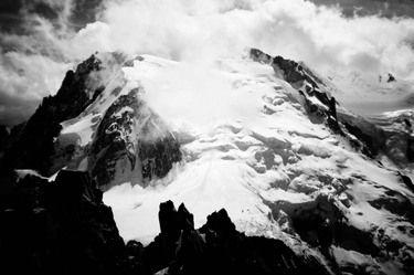 #Chamonix #MontBlanc #FINE #ART #POSTER from Saatchi Art