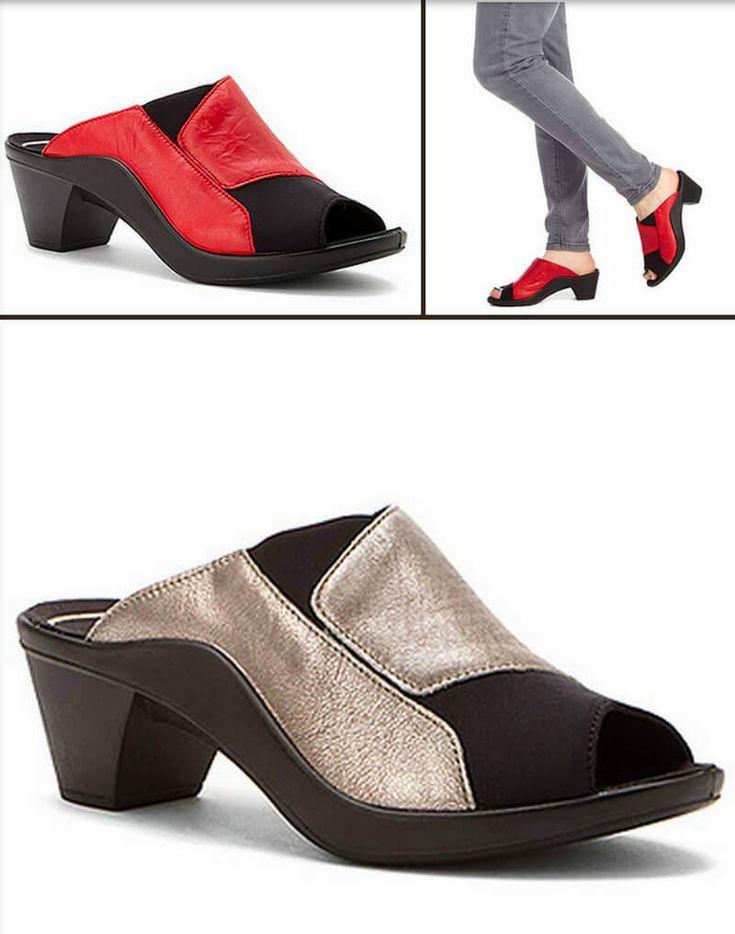 Romika Mokassetta 244--think you can't wear ANY kind of heel? Think again...