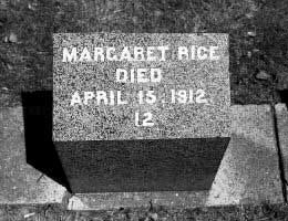 Titanic | Irish Mother Margaret Rice and Children Died in 3rd Class
