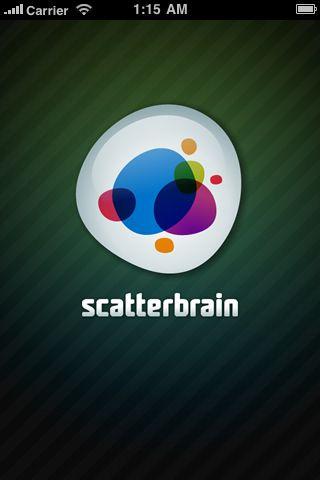 launch screen on ScatterBrain
