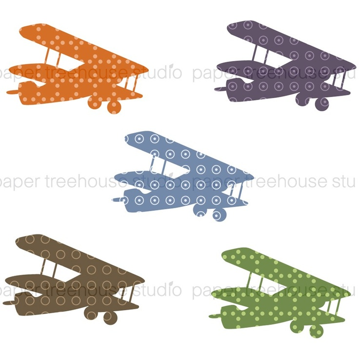 vintage airplane clipart - photo #9