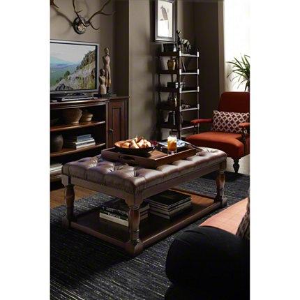 Baker Furniture : Charles Cocktail Ottoman   MR 2063 : Ottomans U0026 Stools :  Milling