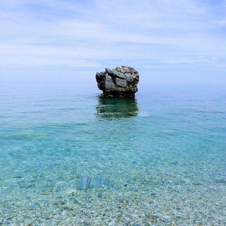 the beauty of simplicity, Milopotas beach, Magnesia