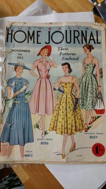 Australian home journal November 1952 cover