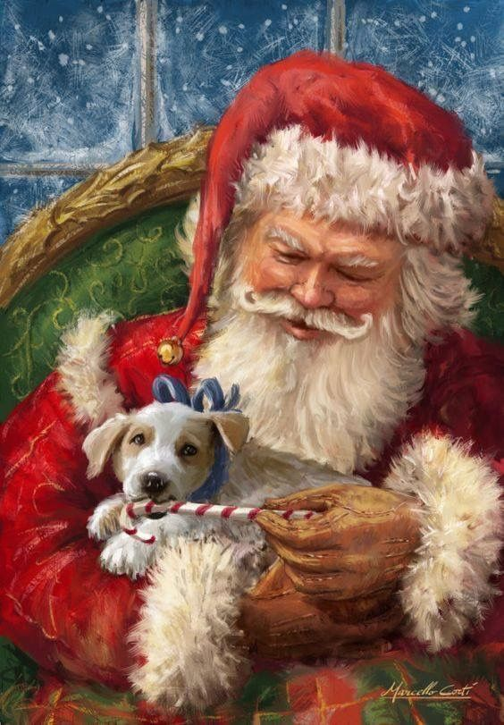 Santa Clauswith Puppy                                                                                                                                                                                 More