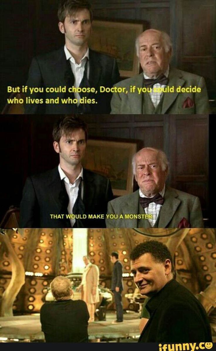 Steven Moffat, everyone.  And we love him anyway!