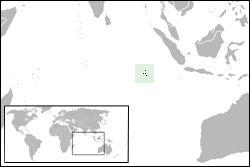 Localização da Ilha Cocos ◆Ilhas Cocos (Keeling) – Wikipédia http://pt.wikipedia.org/wiki/Ilhas_Cocos_%28Keeling%29 #Cocos_Islands #Keeling_Islands