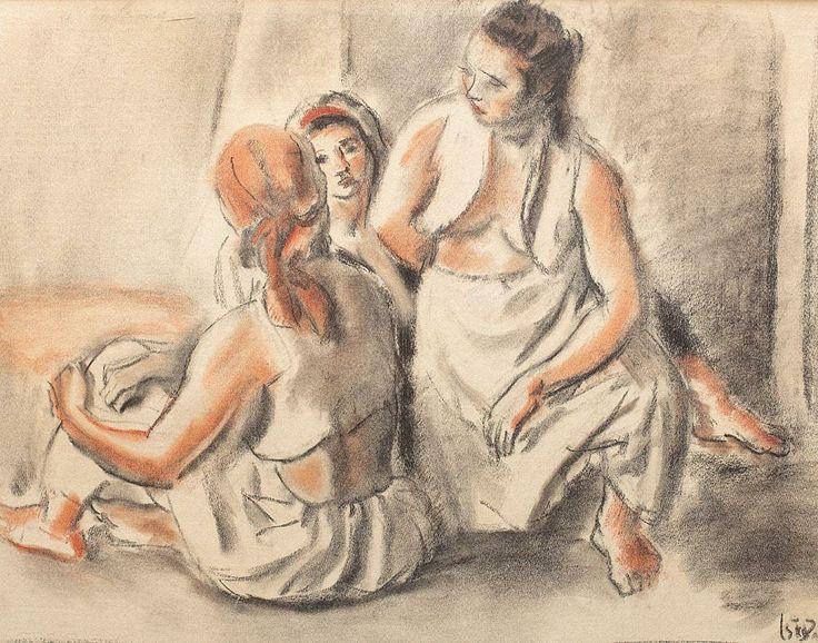 Odalisques,1940 - Iosif Iser