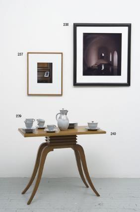 1240: PAUL T. FRANKL 1887-1958 Side table, 1950s W : Lot 1240