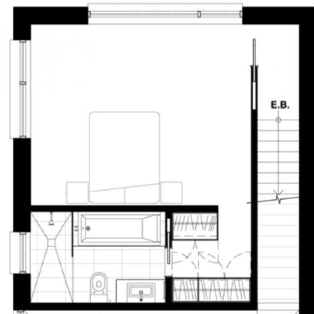 Les 25 meilleures id es de la cat gorie plan salle de bain for Plan suite parentale 35m2