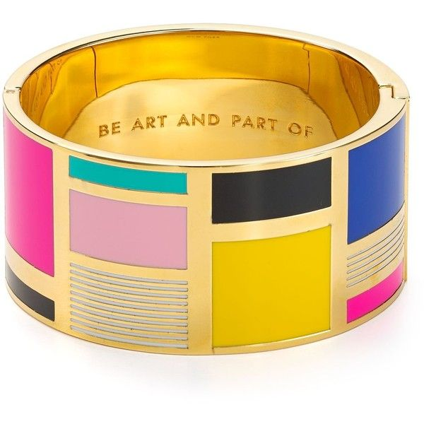 Kate Spade New York Be Art And Part Of Idiom Cuff (€110) found on Polyvore