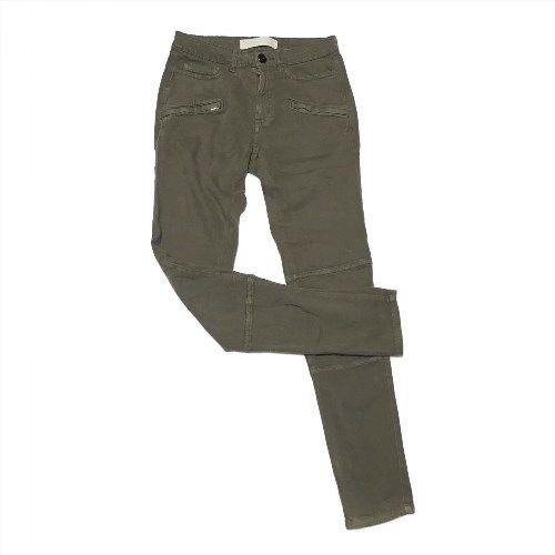 24.27$  Watch now - http://vicsl.justgood.pw/vig/item.php?t=88bzy651500 - Womens Animale Pants Soft Cotton Khaki Online Green 36 Premium 80% Cotton Brazil