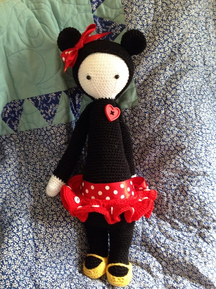 Adorable Minnie Mouse Lalylala mod by Cindy Coomber
