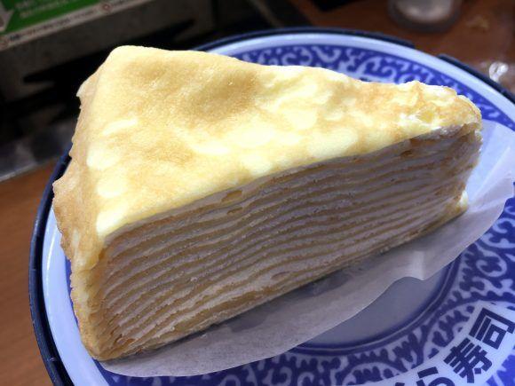 くら寿司、スシロー、はま寿司の「ミルクレープ」を食べ比べてみた結果 → 半端ないミルクレープを出している店を発見! | ロケットニュース24