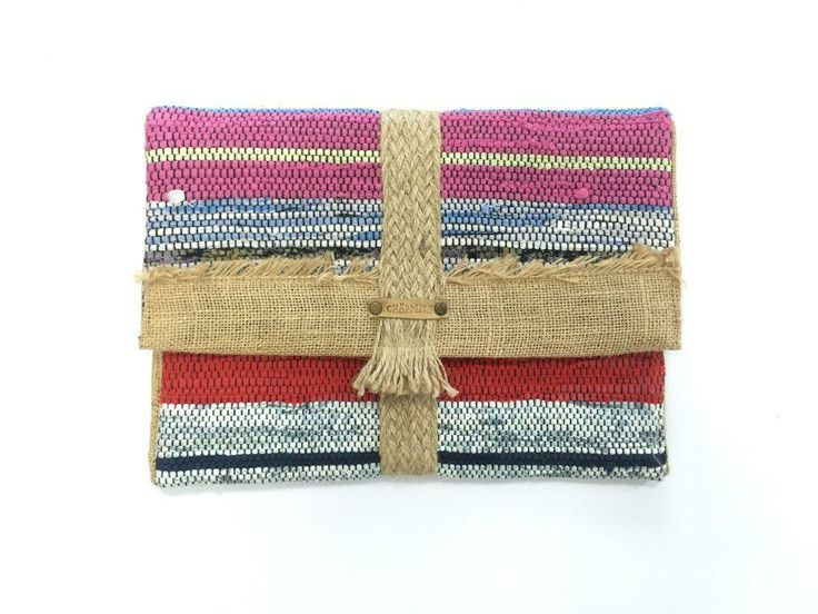 Multi Color Clutch Bag