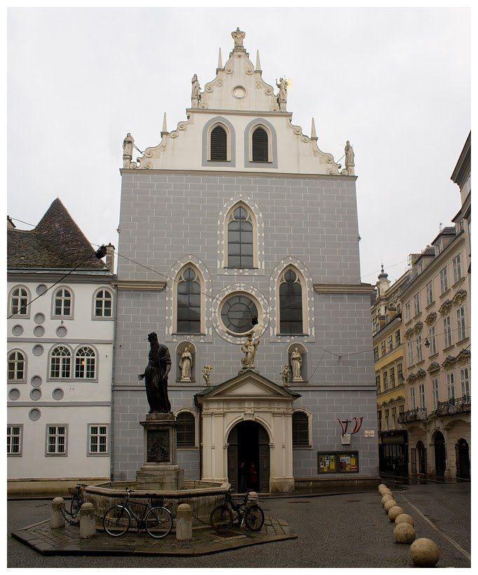 Franziskanerkirche vienna austria la bellisima for My indigo wien