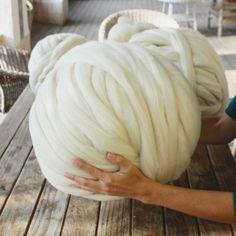 ovillo de 2 kilos de lana merino XXL