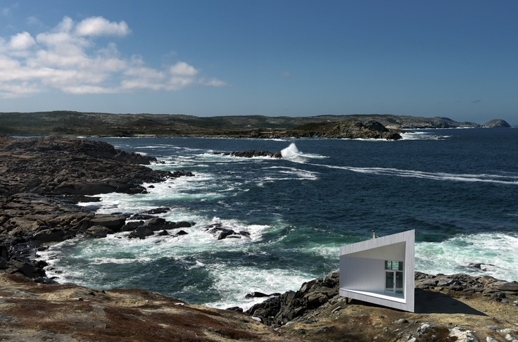 Artist Studio on Fogo Island, Newfoundland. I would love to have one of these at our place!