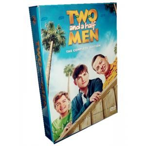 Two And A Half Men Season 11 DVD-8 Discs box set. View Charlie Sheen, Jon Cryer, Angus T. Jones, Conchata Ferrell, Holland Taylor, Marin Hinkle, Melanie Lynskey and semi parts excellent performance.