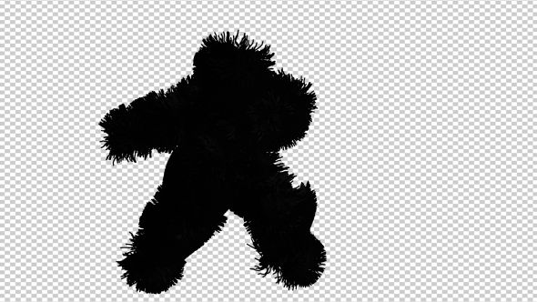 Dark Shadow Hairy Dancer by skobichevskiy Dark Shadow Hairy Dancer animation. Full HD 1920x1080. 13 seconds long video clip. Transparent PNG   Alpha video.