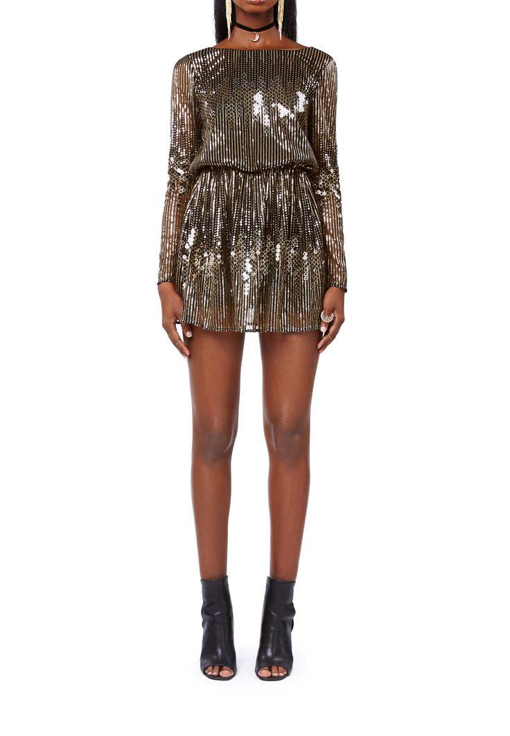 GIZELLE DRESS GOLD, thumbnail-small | IvyRevel