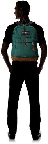 JanSport Right Pack Rucksack – Barber Green / 18 – Klicke zweimal auf das Bild für mehr …