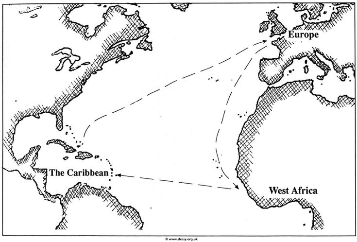 Triangular Trade Worksheet | ABITLIKETHIS