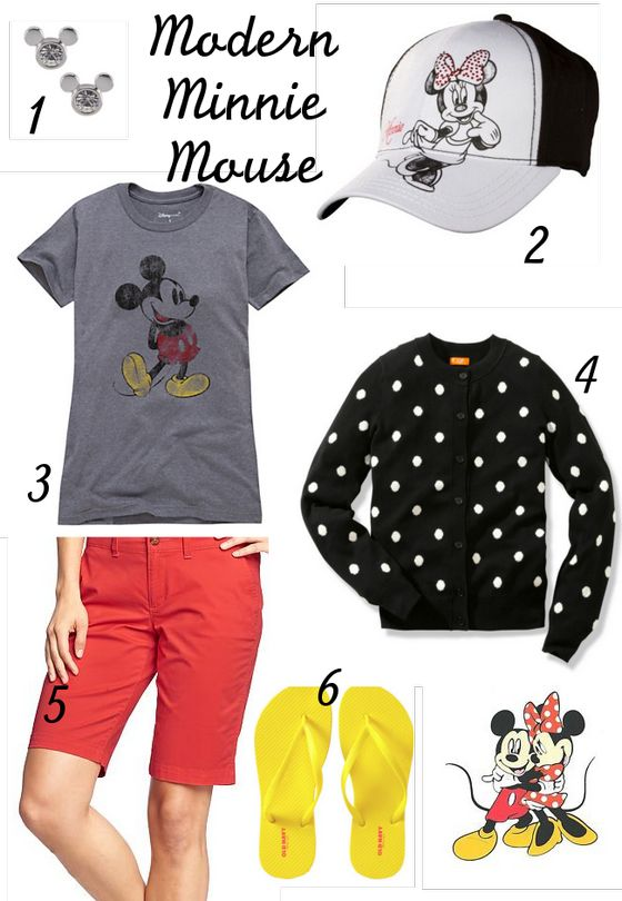 Modern Disney Outfits -Modern Minnie Mouse Inspired Outfit