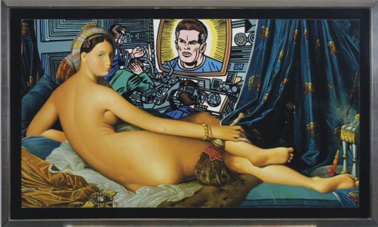 Erró, 'After Ingres', 1975