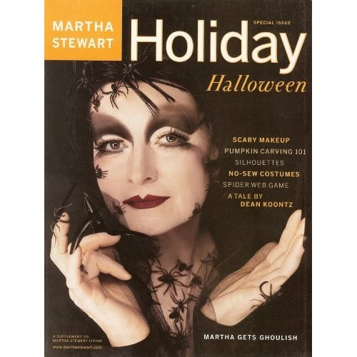a decade of martha stewart halloween magazines - Halloween Magazines