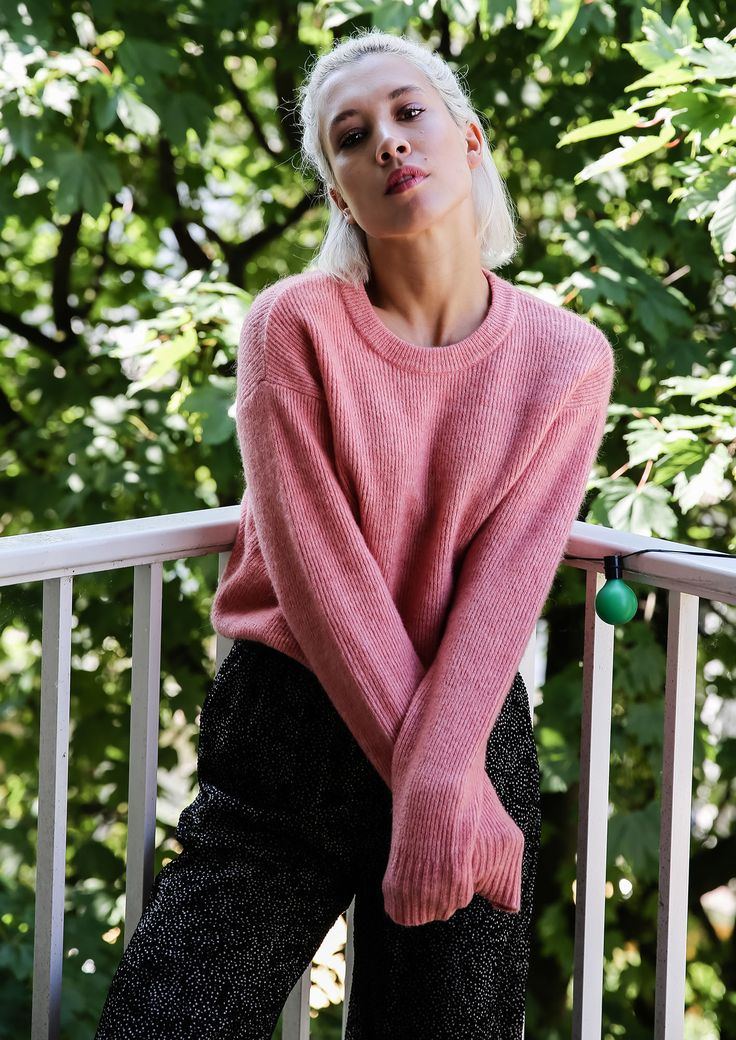 """""""Heavy knits: yes. Boring colors: no thanks. I love to wear as much as color as possible, especially in fall & winter."""""""