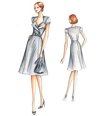 Marfy Dress 2175
