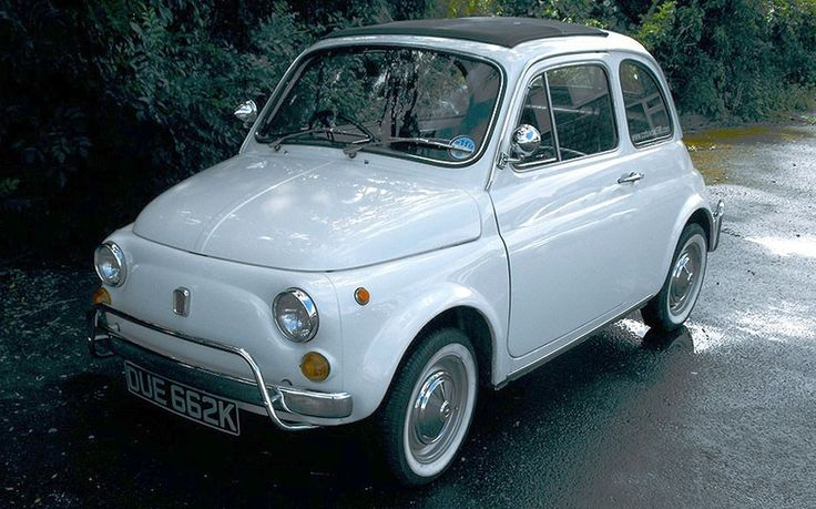 A 1970s Fiat 500 bought by David Cameron as a present for his wife has covered   only 13,000 miles from new.