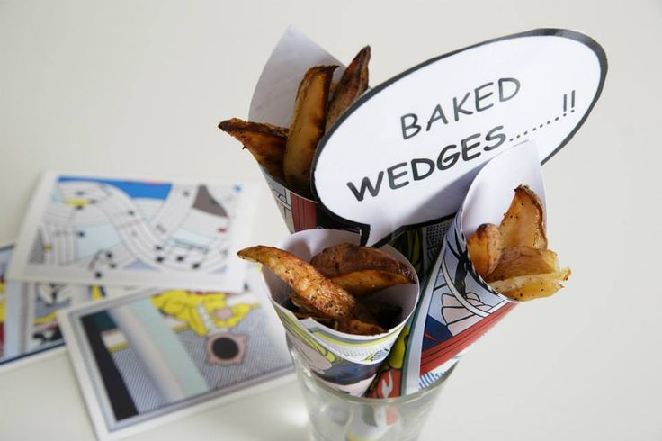 Baked wedges - drinks and canapes reception |   Summer Party at Café Modern One, Scottish National Gallery of Modern Art One
