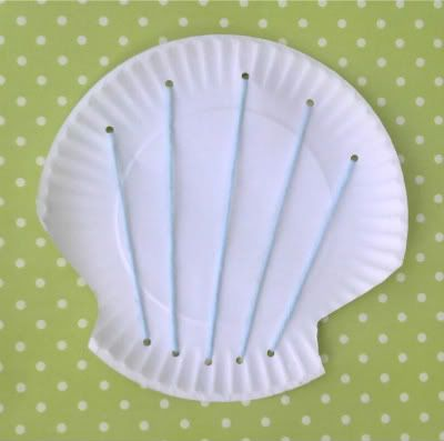 Easy Preschool Craft: Paper Plate Seashell  - Crafts & Activities for Kids - LocalFunForKids Best Blogs for Local Fun, Easy Recipes, Crafts & Motherhood