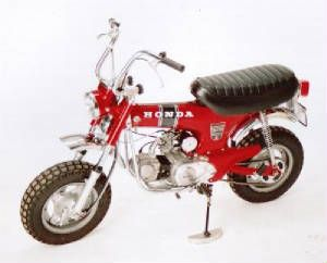 honda 70 mini bike spent all summer on this baby
