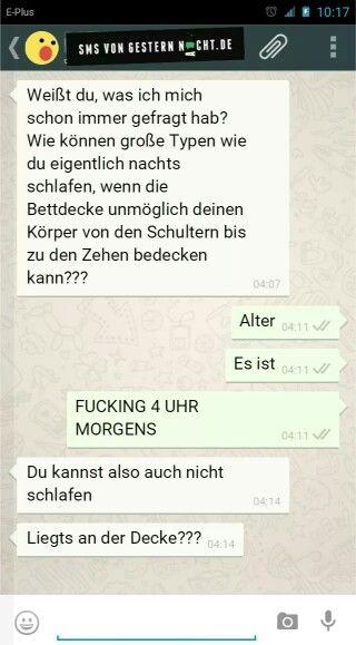 SMS von gestern Nacht