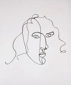 "Medusa, c. 1930 Wire 12 1/4"" x 17 1/4"" x 9 1/2"" Calder Foundation, New York"