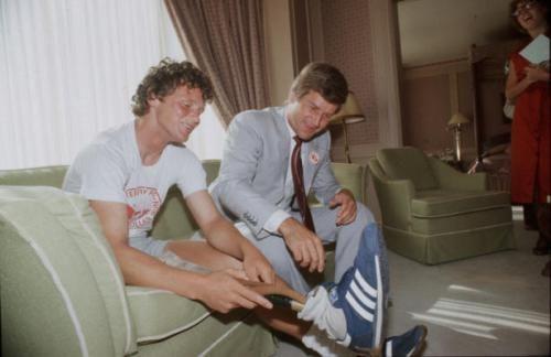 Terry Fox & Bobby Orr