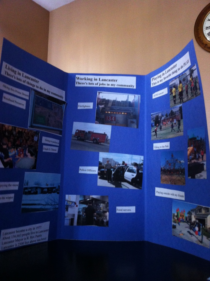 Classroom Ideas Grade 6 ~ Rd grade community brochure school project pinterest