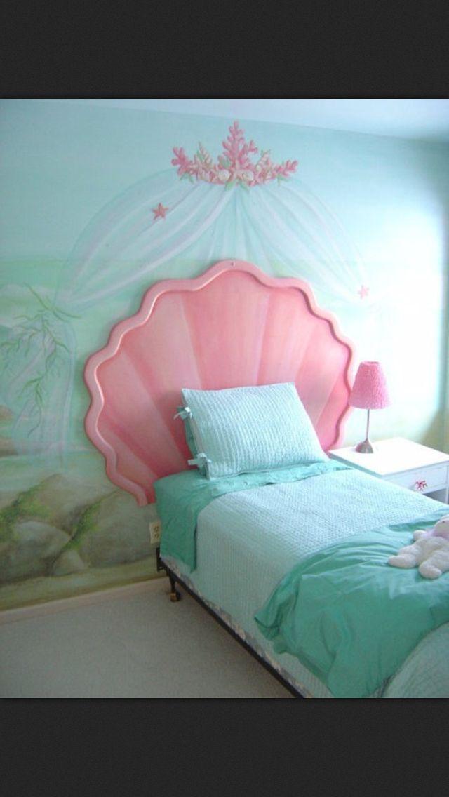 Little Mermaid Home Decor Part - 40: Kalli- Little Mermaid Inspired Room
